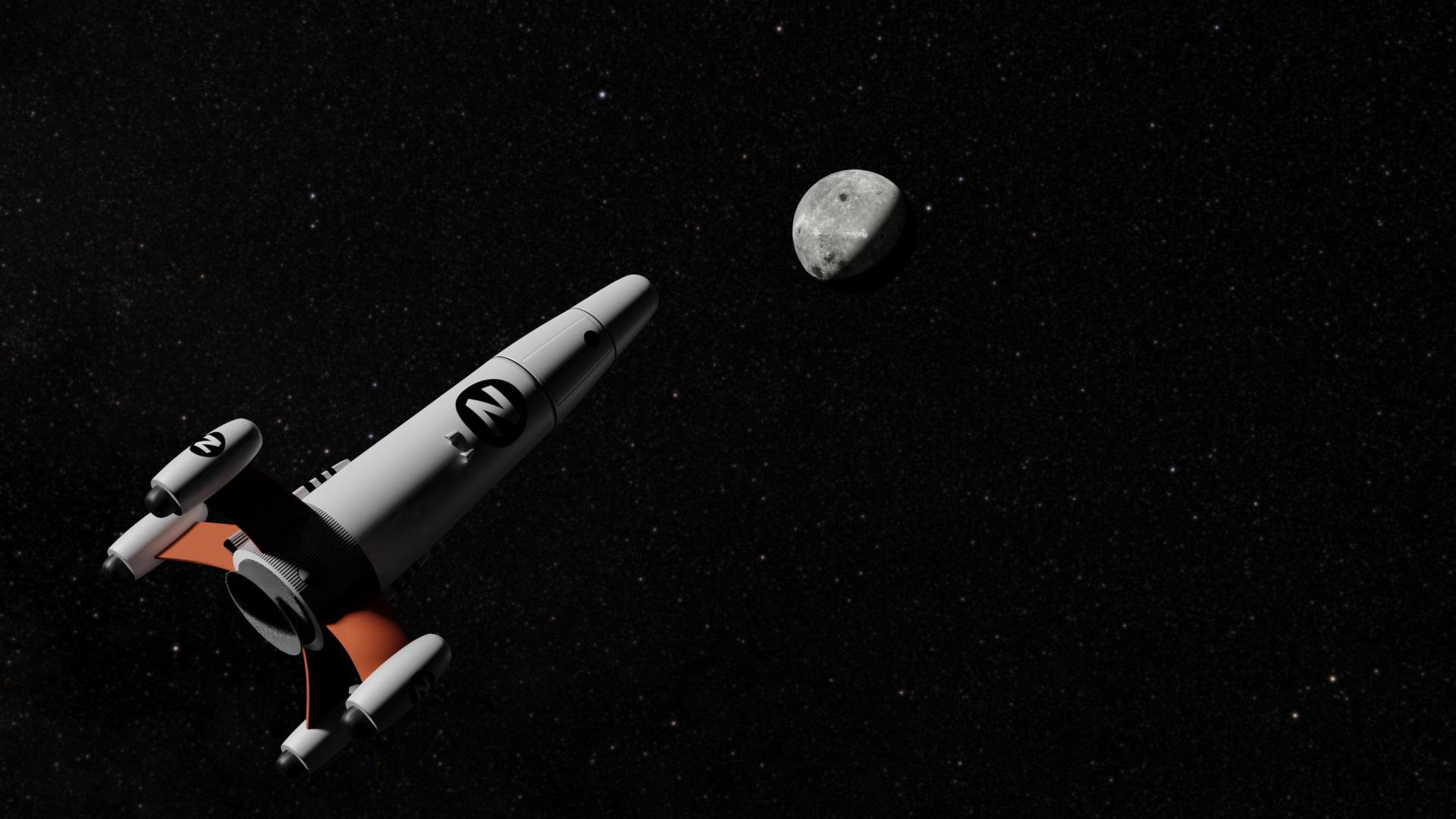 Agence 3D, fusée zorglub